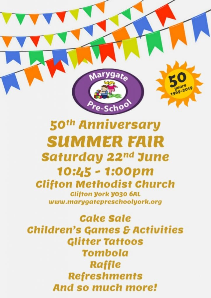 Marygate Summer Fair 2019